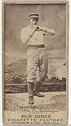 John Weyhing, Pitcher, Cleveland, from the Old Judge series (N172) for Old Judge Cigarettes