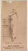 "Philip Sydney ""Red"" Ehret, Pitcher, Louisville Colonels, from the Old Judge series (N172) for Old Judge Cigarettes"