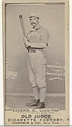 """Harry Francis """"Farmer"""" Vaughn, Catcher, Louisville Colonels, from the Old Judge series (N172) for Old Judge Cigarettes"""