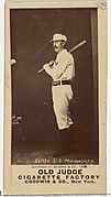 Ezra Ballou Sutton, 3rd Base, Milwaukee, from the Old Judge series (N172) for Old Judge Cigarettes