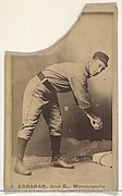 Timothy J. Brosnan, 2nd Base, Minneapolis, from the Old Judge series (N172) for Old Judge Cigarettes