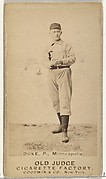 "Martin F. ""Duck"" Duke, Pitcher, Minneapolis, from the Old Judge series (N172) for Old Judge Cigarettes"