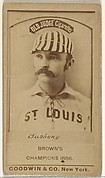 "Albert John ""Doc"" Bushong, Catcher, St. Louis Browns, from the Old Judge series (N172) for Old Judge Cigarettes"
