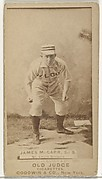 Chippy McGarr, 2nd Base, St. Louis Browns, from the Old Judge series (N172) for Old Judge Cigarettes