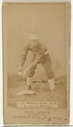Nicholson, 2nd Base, St. Louis Whites, from the Old Judge series (N172) for Old Judge Cigarettes