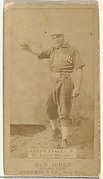 Staley, Pitcher, St. Louis Whites, from the Old Judge series (N172) for Old Judge Cigarettes