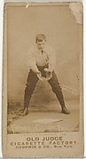 """William Charles """"Bill"""" Farmer, Catcher, St. Paul Apostles, from the Old Judge series (N172) for Old Judge Cigarettes"""