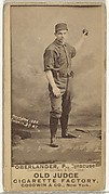 "Hartman Louis ""Doc"" Oberlander, Pitcher, Syracuse, from the Old Judge series (N172) for Old Judge Cigarettes"