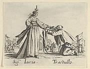 Sig. Lucia - Trastullo, from the Balli di Sfessania