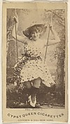 The Swing, from the Actors and Actresses series (N171) for Gypsy Queen Cigarettes