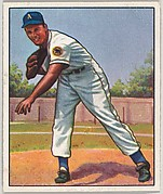 """Leland """"Lou"""" Brissie, Pitcher, Philadelphia Athletics, Cleveland Indians, from the Picture Card Collectors Series (R406-4) issued by Bowman Gum"""
