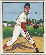 Ewell Blackwell, Pitcher, Cincinnati Reds, from the Picture Card Collectors Series (R406-4) issued by Bowman Gum