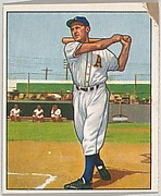 Sam Chapman, Outfield, Philadelphia Athletics, from the Picture Card Collectors Series (R406-4) issued by Bowman Gum