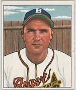 Tommy Holmes, Outfield, Boston Braves, from the Picture Card Collectors Series (R406-4) issued by Bowman Gum