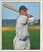 Bill Rigney, Infield, New York Giants, from the Picture Card Collectors Series (R406-4) issued by Bowman Gum