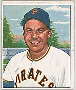 Johnny Hopp, 1st Base, Outfield, Pittsburgh Pirates, from the Picture Card Collectors Series (R406-4) issued by Bowman Gum