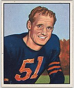 Ken Kavanaugh, End, Chicago Bears, from the Picture Card Collectors Series (R407-2) issued by Bowman Gum