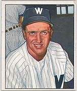 Mickey Harris, Pitcher, Washington Senators, from the Picture Card Collectors Series (R406-4) issued by Bowman Gum