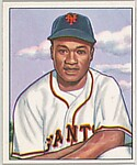 Henry Thompson, 2nd Base, New York Giants, from the Picture Card Collectors Series (R406-4) issued by Bowman Gum