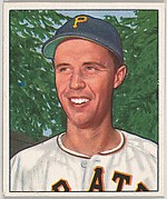 Eddy Fitzgerald, Catcher, Pittsburgh Pirates, from the Picture Card Collectors Series (R406-4) issued by Bowman Gum