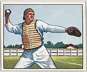 Stan Lopata, Catcher, Philadelphia Phillies, from the Picture Card Collectors Series (R406-4) issued by Bowman Gum