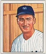 Bob Porterfield, Pitcher, New York Yankees, from the Picture Card Collectors Series (R406-4) issued by Bowman Gum