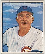Frank Frisch, Manager, Chicago Cubs, from the Picture Card Collectors Series (R406-4) issued by Bowman Gum