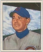 Bill Serena, 3rd Base, Chicago Cubs, from the Picture Card Collectors Series (R406-4) issued by Bowman Gum
