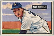 Alex Kellner, Pitcher, Philadelphia Athletics, from Picture Cards, series 5 (R406-5) issued by Bowman Gum