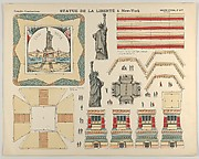 The Statue of Liberty, from the Grandes Constructions, no. 417