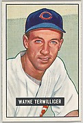 Wayne Terwilliger, 2nd Base, Chicago Cubs, from Picture Cards, series 5 (R406-5) issued by Bowman Gum