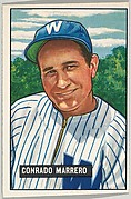 Conrado Marrero, Pitcher, Washington Senators, from Picture Cards, series 5 (R406-5) issued by Bowman Gum