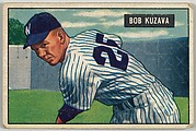 Bob Kuzava, Pitcher Washington Senators, from Picture Cards, series 5 (R406-5) issued by Bowman Gum