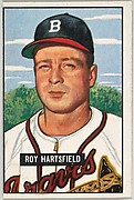 Roy Hartsfield, 2nd Base, Boston Braves, from Picture Cards, series 5 (R406-5) issued by Bowman Gum