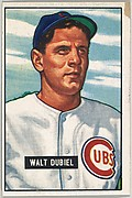 Walt Dubiel, Pitcher, Chicago Cubs, from Picture Cards, series 5 (R406-5) issued by Bowman Gum