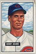 Bobby Adams, Infield, Cincinnati Reds, from Picture Cards, series 5 (R406-5) issued by Bowman Gum