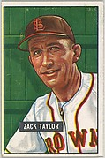 Zach Taylor, Manager, St. Louis Browns, from Picture Cards, series 5 (R406-5) issued by Bowman Gum
