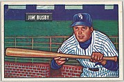 Jim Busby, Outfield, Chicago White Sox, from Picture Cards, series 5 (R406-5) issued by Bowman Gum
