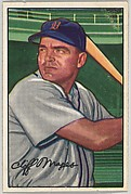 Cliff Mapes, Outfield, Detroit Tigers, from Picture Cards, series 6 (R406-6) issued by Bowman Gum
