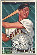 Don Mueller, Outfield, New York Giants, from Picture Cards, series 6 (R406-6) issued by Bowman Gum