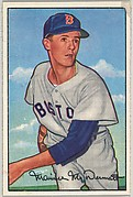 Maurice McDermott, Pitcher, Boston Red Sox, from Picture Cards, series 6 (R406-6) issued by Bowman Gum