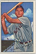 Vic Wertz, Outfield, Detroit Tigers, from Picture Cards, series 6 (R406-6) issued by Bowman Gum