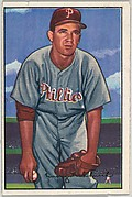 Emory Church, Pitcher, Philadelphia Phillies, from Picture Cards, series 6 (R406-6) issued by Bowman Gum