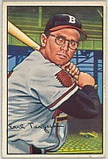 Earl Torgeson, 1st Base, Boston Braves, from Picture Cards, series 6 (R406-6) issued by Bowman Gum