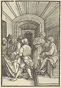 Pilate Washing his Hands, from Speculum passionis domini nostri Ihesu Christi