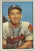 Sid Gordon, Outfield, Boston Braves, from Collector Series, Colors set, series 7 (R406-7) issued by Bowman Gum