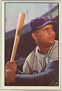 Roy Campanella, Catcher, Brooklyn Dodgers, from Collector Series, Colors set, series 7 (R406-7) issued by Bowman Gum