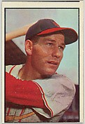 Solly Hemus, Shortstop, St. Louis Cardinals, from Collector Series, Colors set, series 7 (R406-7) issued by Bowman Gum