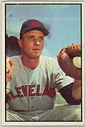 Jim Hegan, Catcher, Cleveland Indians, from Collector Series, Colors set, series 7 (R406-7) issued by Bowman Gum