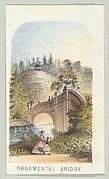 Ornamental Bridge, from the series, Views in Central Park, New York, Part 2